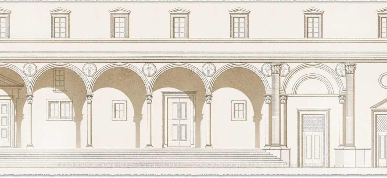 perspective aquarelle et dessin en architecture restauration patrimoine logis Bon Saint-Jacques Moret-sur-Loing (Seine-et-Marne)
