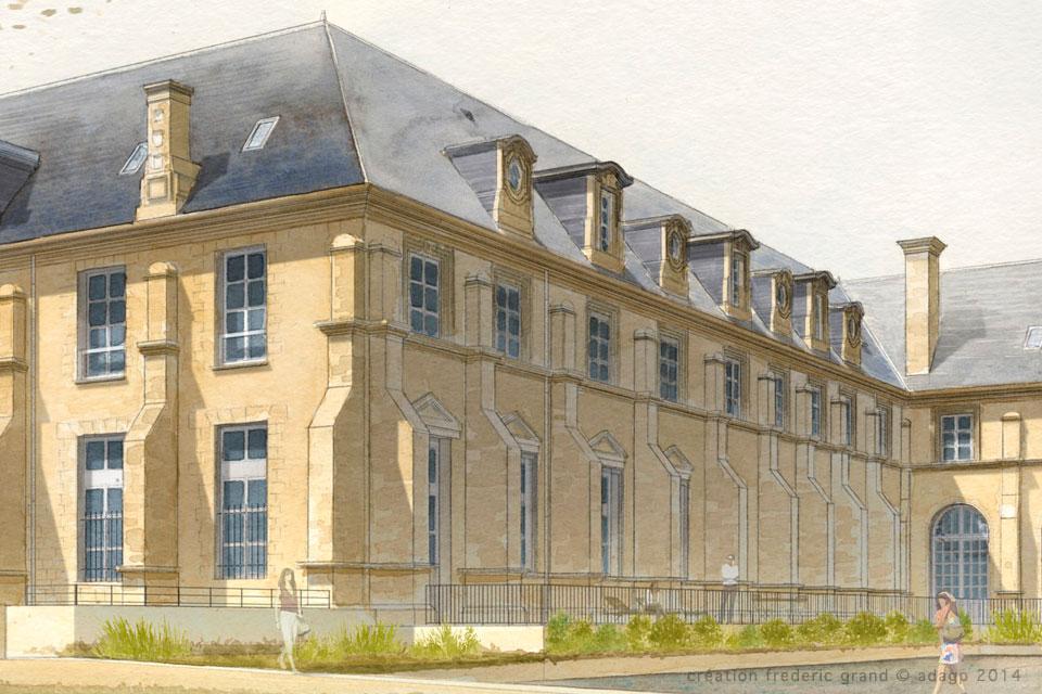 Histoire et Patrimoine immobilier Châtillon Architecte rénovation abbaye Toussaint Châlons-en-Champagne