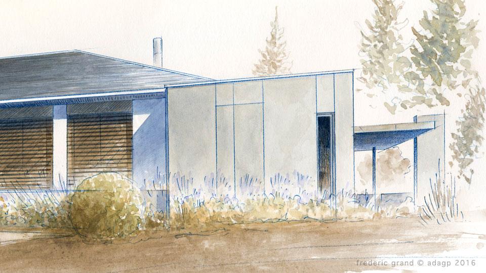 Agrandissement d'une villa des années 70 - LIMONY (07)