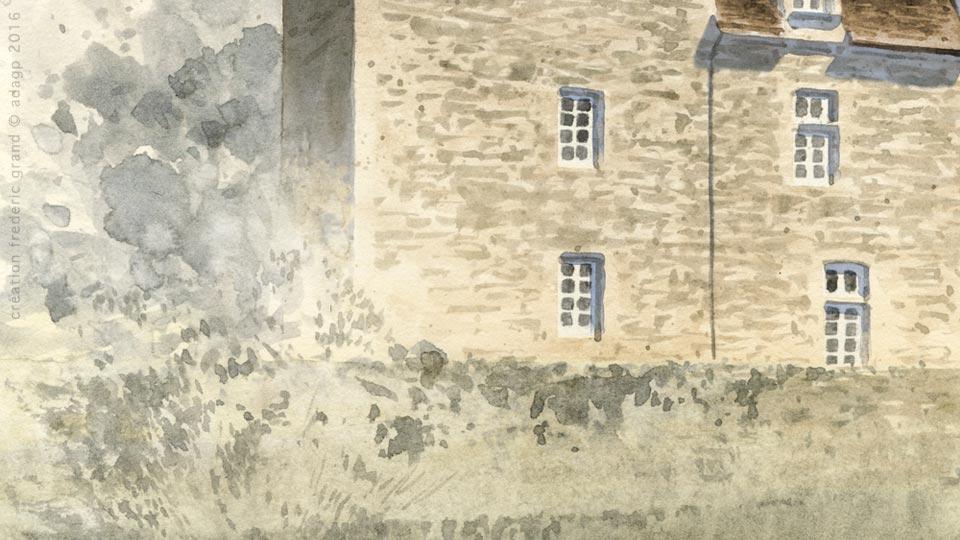 particulier rénovation architecture médievale château Gibanel Argentat