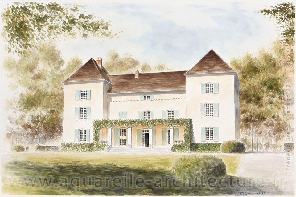 Représentation de la demeure La Moutonnière - Vilette-sur-Ain (Ain)
