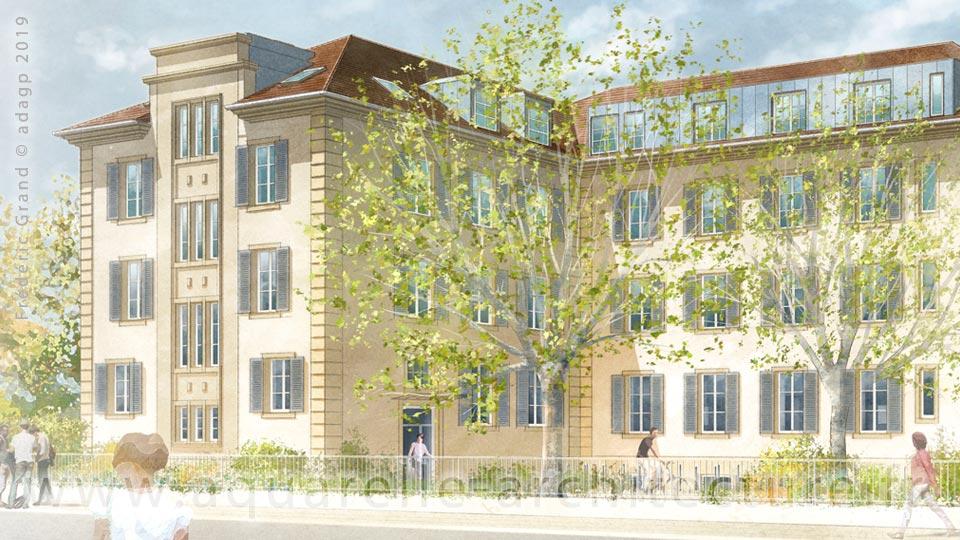 Immeuble Thenard - MULHOUSE