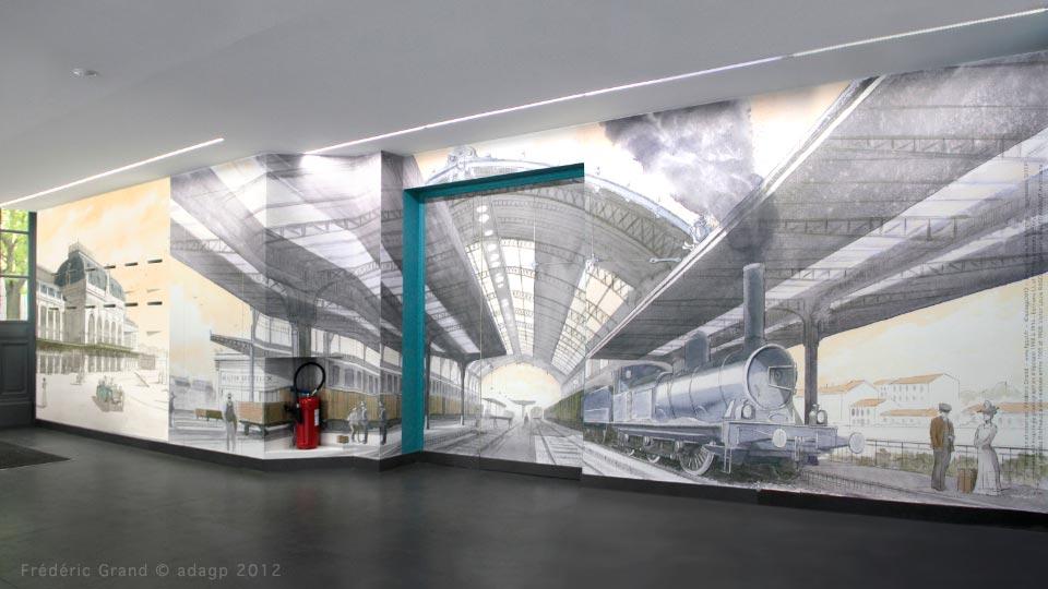 régie Tadary immobilier Curis Architectes croquis gare des Brotteaux Lyon
