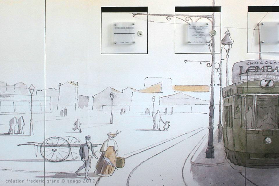 régie Tadary immobilier Curis Architectes decoration gare des Brotteaux Lyon
